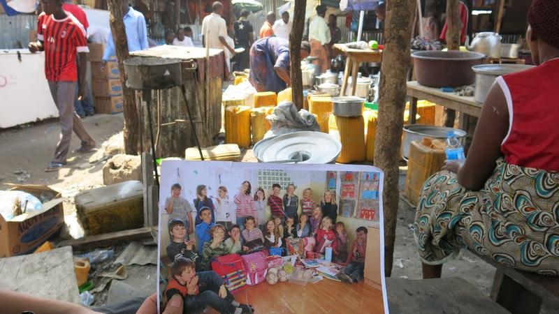 Učenci 3. c z naše šole skupaj s humanistom Tomom Križnarjem v Sudanu