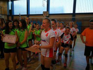Šolsko športno tekmovanje iz odbojke 2017/18 za učenke 2005 in mlajše
